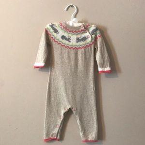 Wool, cashmere jumpsuit